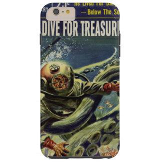宝物ダイバーによってはタコが戦います TOUGH iPhone 6 PLUS ケース