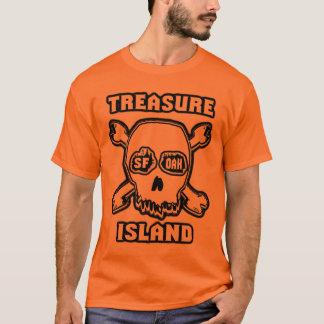 宝物島ライトスカル Tシャツ