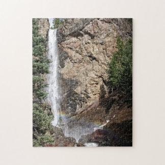 宝物滝-コロラド州のパズル ジグソーパズル