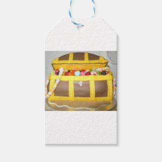 宝物箱のケーキ ギフトタグ