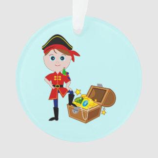 宝物箱を持つ海賊 オーナメント