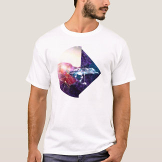 宝石および宇宙の傘の人 Tシャツ