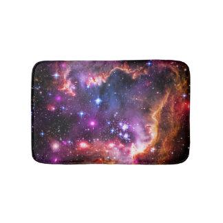宝石で飾られた眩ます星明かりの宇宙の写真、smc バスマット