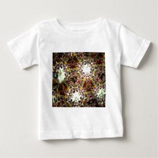 宝石で飾られたKaleidescope 01 ベビーTシャツ
