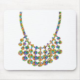 宝石のひもの輝きのNAVIN Jによる写実的なDecoの芸術 マウスパッド