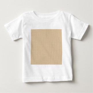 宝石のギフトからの金三角形のストリップパターン ベビーTシャツ