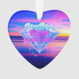 宝石のハンターのロゴ オーナメント