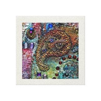 宝石のブロケード キャンバスプリント