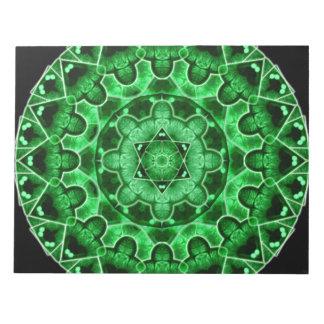 宝石の星の曼荼羅 ノートパッド