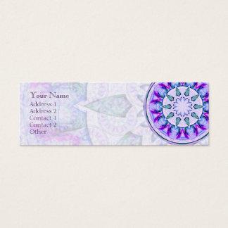 宝石の星の曼荼羅 • プロフィールの名刺 スキニー名刺