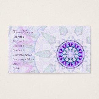 宝石の星の曼荼羅 • 名刺
