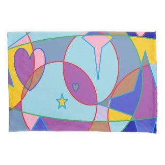 宝石の星 枕カバー
