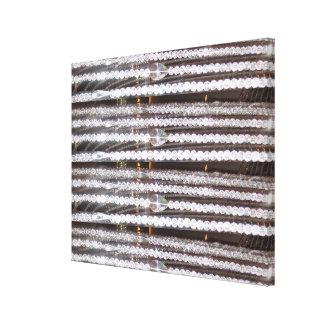 宝石はパターンおもしろいの芸術のnavinJOSHI NVN145をひもでつなぎます キャンバスプリント