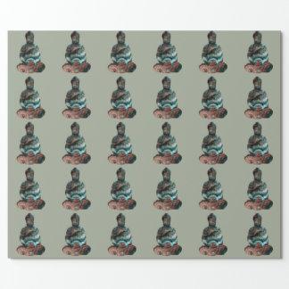 宝石用原石の仏の包装紙 ラッピングペーパー