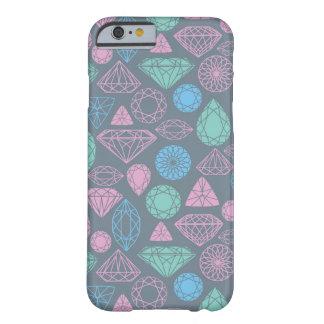 宝石用原石アイコンパターン BARELY THERE iPhone 6 ケース
