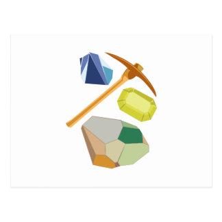 宝石鉱山 ポストカード