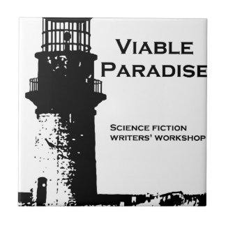 実行可能な楽園の灯台 タイル