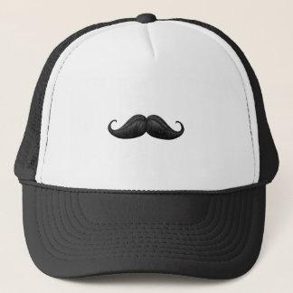 実質のたくましい男性のワックスを掛けられ、編まれた口ひげの帽子 キャップ