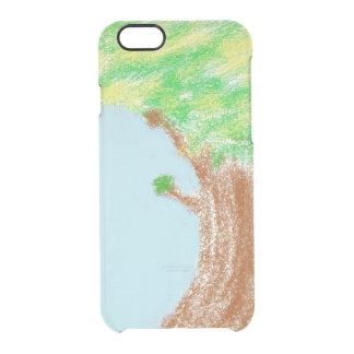 実質のりんごの箱 クリアiPhone 6/6Sケース