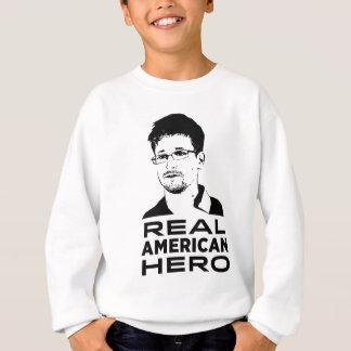 実質のアメリカの英雄 スウェットシャツ
