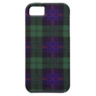 実質のスコットランドのタータンチェック-アームストロング-パターン iPhone SE/5/5s ケース