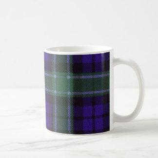 実質のスコットランドのタータンチェック-グラハム-マグ コーヒーマグカップ