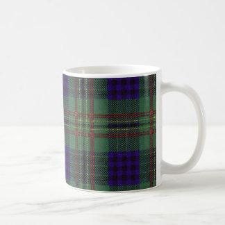 実質のスコットランドのタータンチェック-ケネディ コーヒーマグカップ