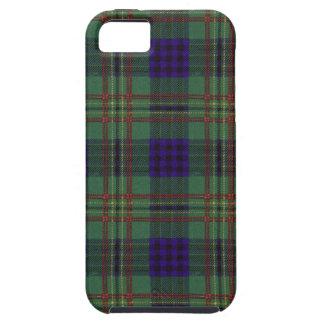 実質のスコットランドのタータンチェック-ケネディ iPhone SE/5/5s ケース
