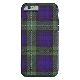 実質のスコットランドのタータンチェック-ゴードン ケース