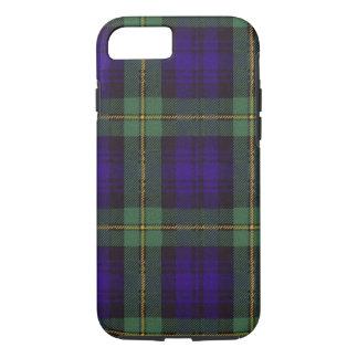 実質のスコットランドのタータンチェック-ゴードン iPhone 8/7ケース