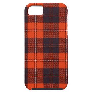 実質のスコットランドのタータンチェック- Cunningham iPhone SE/5/5s ケース