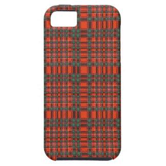 実質のスコットランドのタータンチェック- Macalister iPhone SE/5/5s ケース