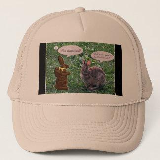実質のバニーウサギに話すチョコレートバニー キャップ