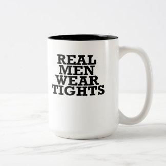 実質のメンズウェアのタイツ ツートーンマグカップ