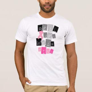 実質のメンズウェアのピンク Tシャツ