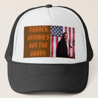 実質のワシの精神、バラック・オバマの得られた… キャップ
