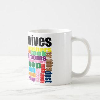"""実質の主婦は""""""""襲います コーヒーマグカップ"""