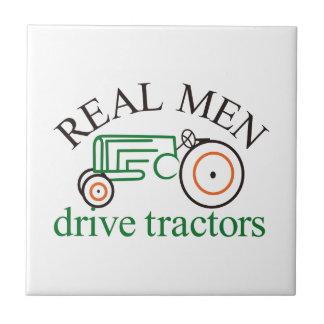 実質の人のトラクター タイル