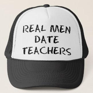 実質の人の日付の先生 キャップ