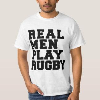 実質の人の演劇のラグビー Tシャツ
