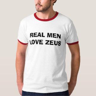 実質の人愛ゼウス Tシャツ
