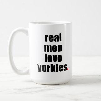 実質の人愛ヨークシャーテリアのマグ コーヒーマグカップ