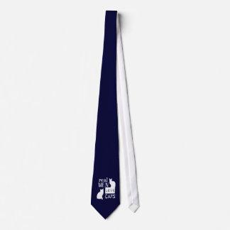 実質の人愛猫 ネクタイ