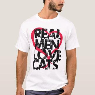 実質の人愛猫 Tシャツ