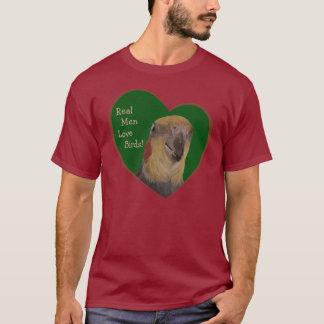 実質の人愛鳥! 長袖のTシャツ Tシャツ