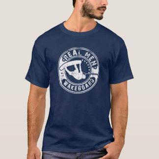 実質の人Wakeboard Tシャツ