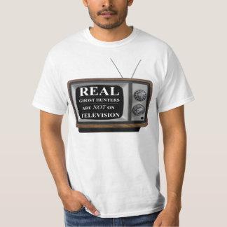 """""""実質の幽霊のハンターTVに""""のTシャツありません Tシャツ"""