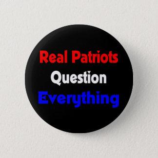 実質の愛国者の質問すべてボタン 缶バッジ