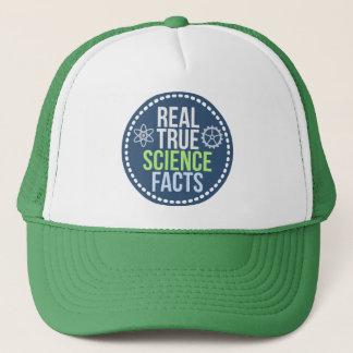 実質の本当科学の事実の帽子(緑) キャップ