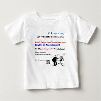 実質の警察官はアメリカ人の権利に違反しません ベビーTシャツ